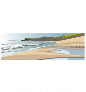 Ian Mitchell.pano.new.sandsend beach