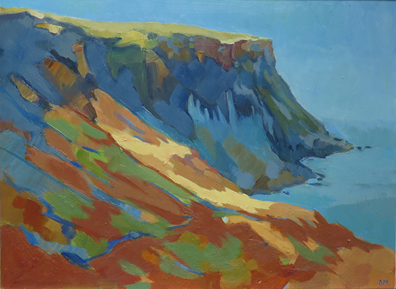 David Morris  Afternoon light Cleveland Cliffs 485