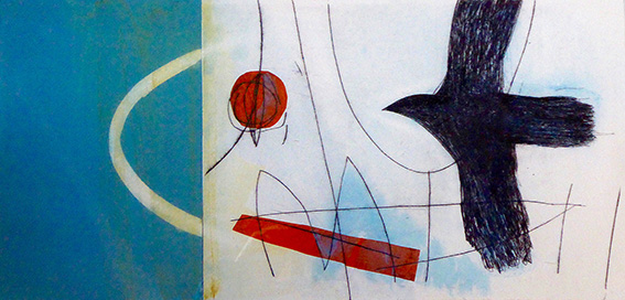 Staithes Studios. Bird with Blue